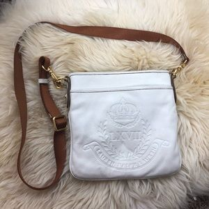 Ralph Lauren White Crossbody Bag